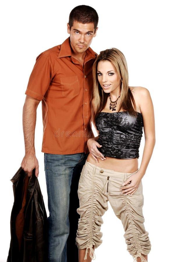 Glamor Couple stock images