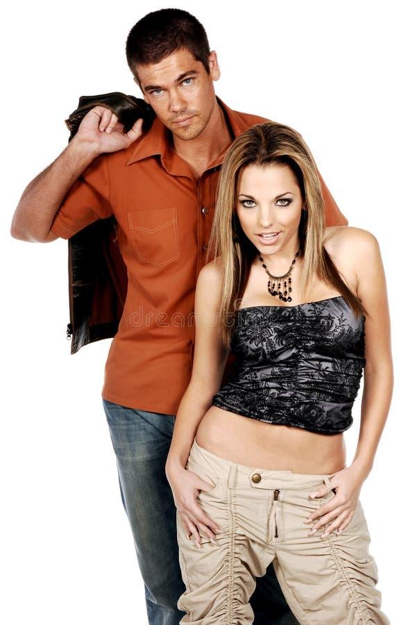 Glamor Couple royalty free stock images