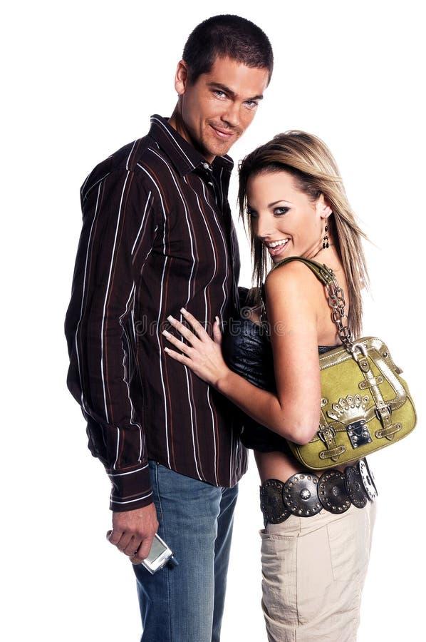 Glamor Couple stock image