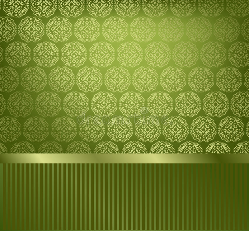 Glamor dekorative Tapete lizenzfreie abbildung