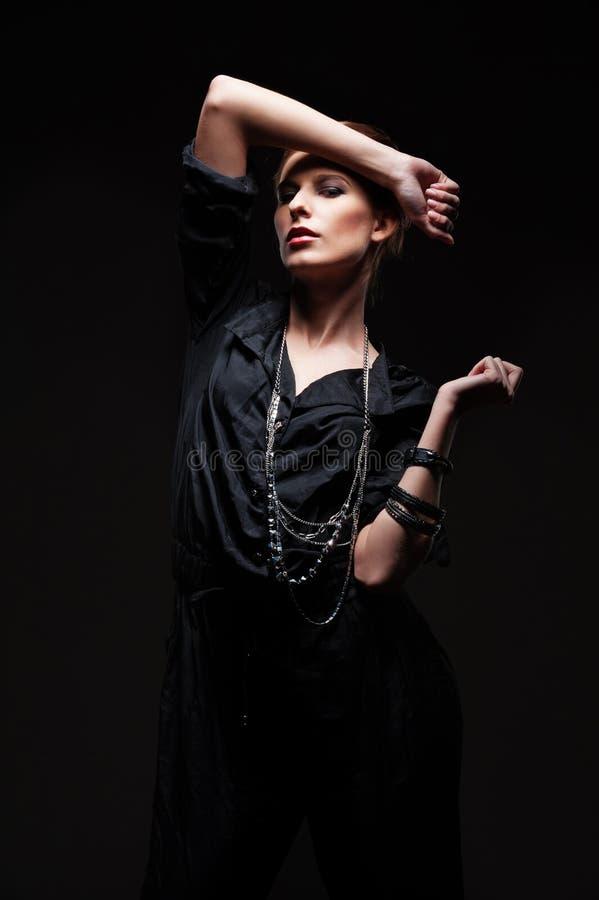 Download Glamor female posing stock photo. Image of posing, elegant - 27566434