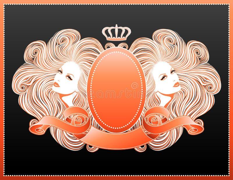 Glamor forever! royalty free illustration