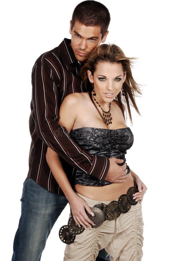 Glamor Paare stockfotos