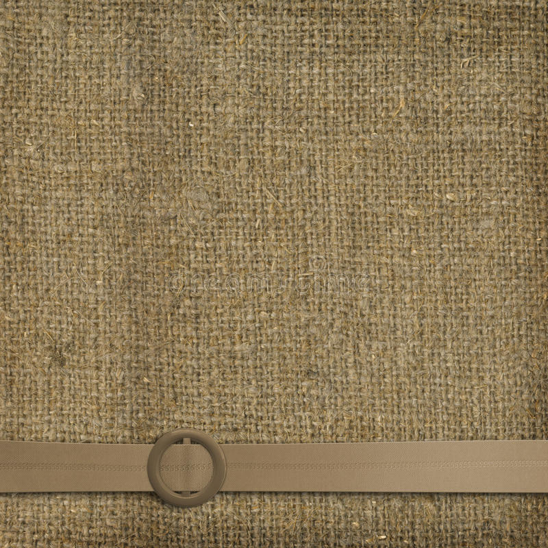 Glamorous Belt With An Old Worn Background Royalty Free Stock Photos