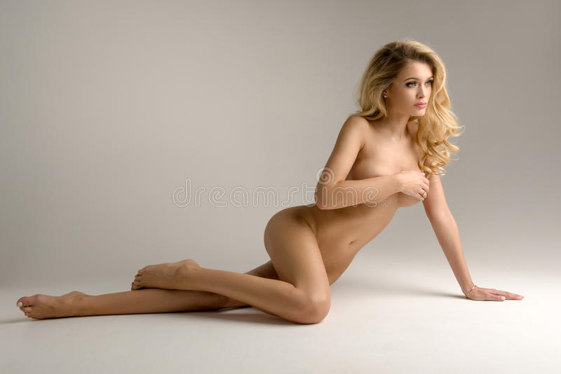 Curvy women naked Beautiful pussy blonde