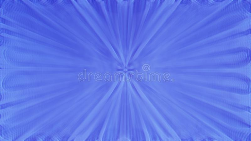 Blue gradient background. A glamorous illustration of particles and rays. Blue gradient background, beautiful blue abstract motion background stock image