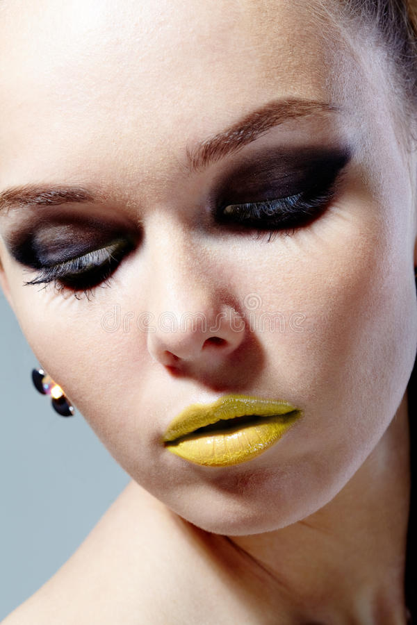 Download Glamorous makeup stock photo. Image of elegance, human - 20418858