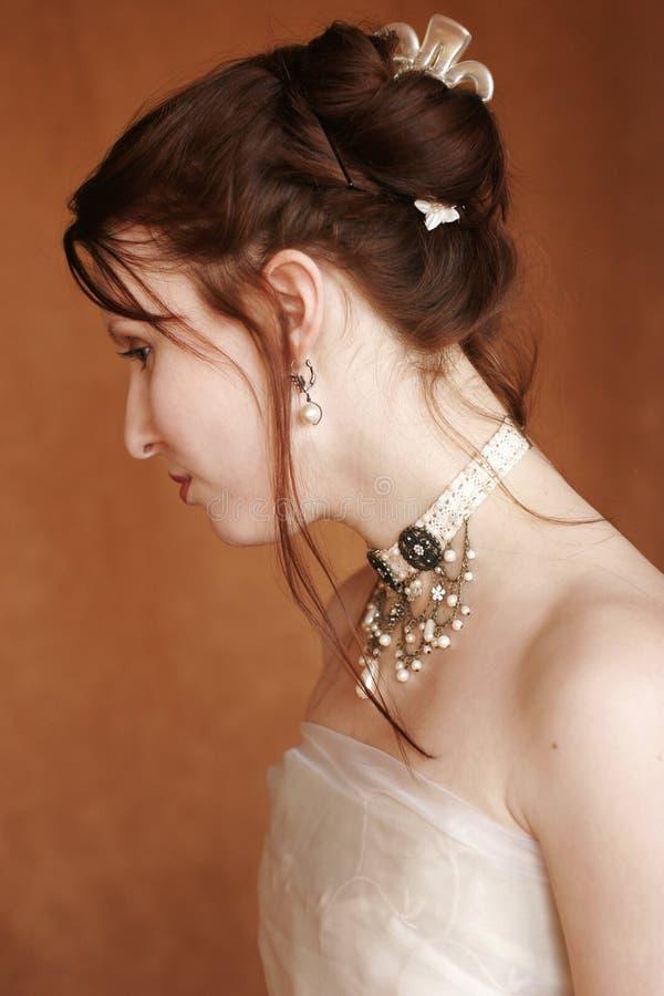 Glamorous portrait royalty free stock image