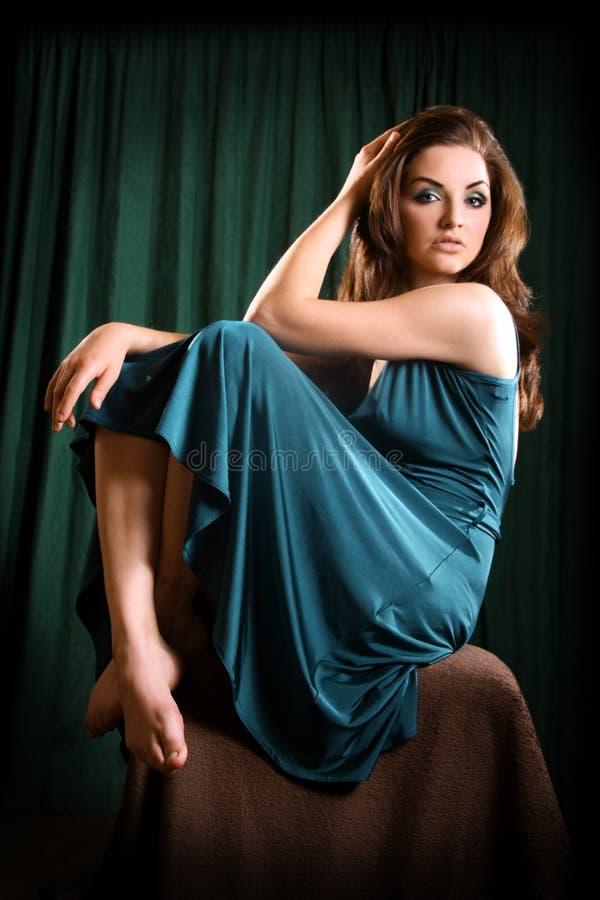 Download Glamorous Woman stock image. Image of brown, someone - 14479355