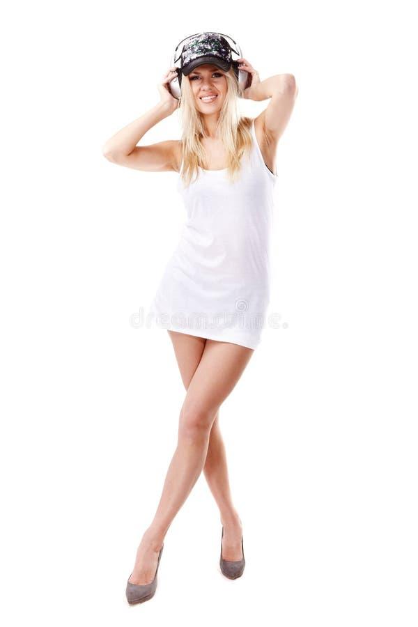 Glamorous woman royalty free stock photo