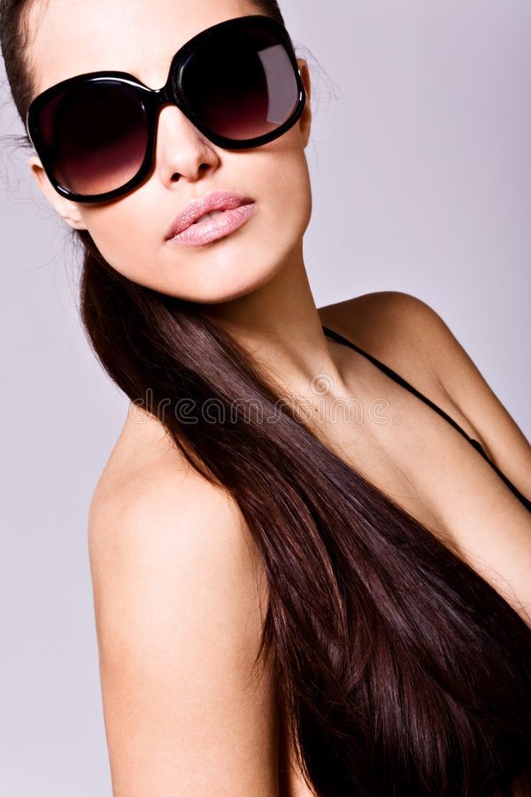 Glamorous Woman Stock Images
