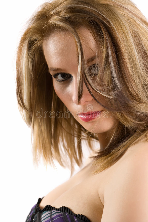 Download Glamour Blonde Lady Royalty Free Stock Photography - Image: 8210377