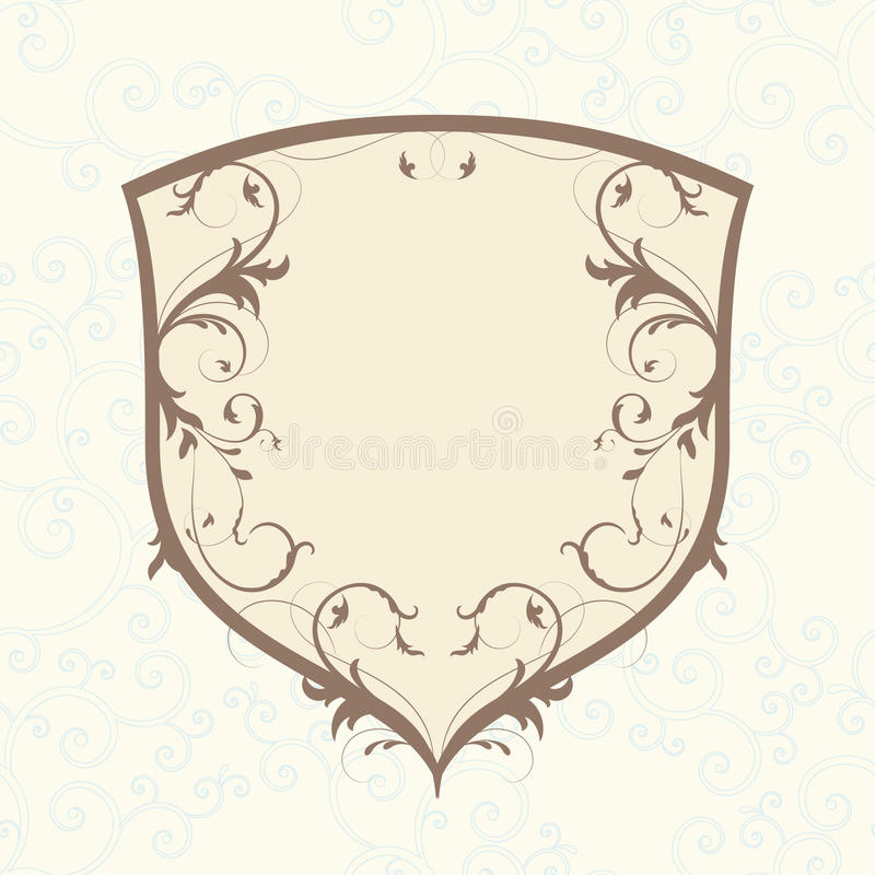 Download Glamour emblem stock vector. Image of decor, glamour - 20405440
