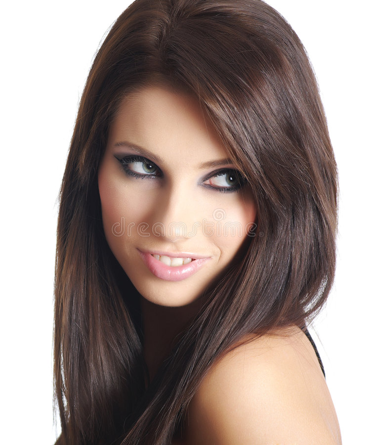 Glamour and fashion girl stock images