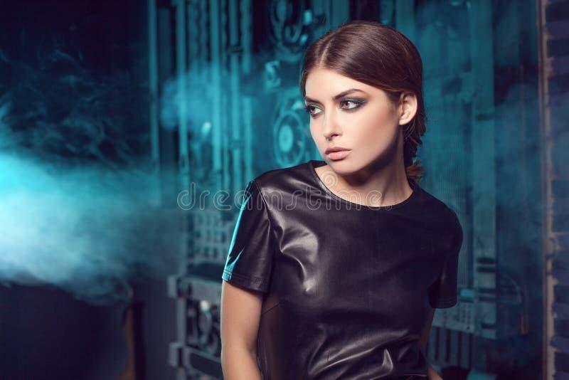 Glamour fashion model. royalty free stock image