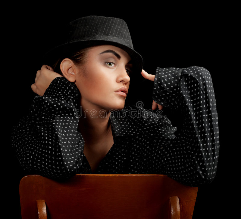 glamour model στοκ φωτογραφία με δικαίωμα ελεύθερης χρήσης