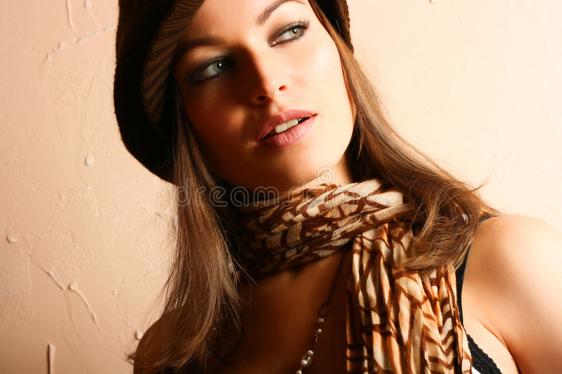 Glamour Party Girl Royalty Free Stock Photos