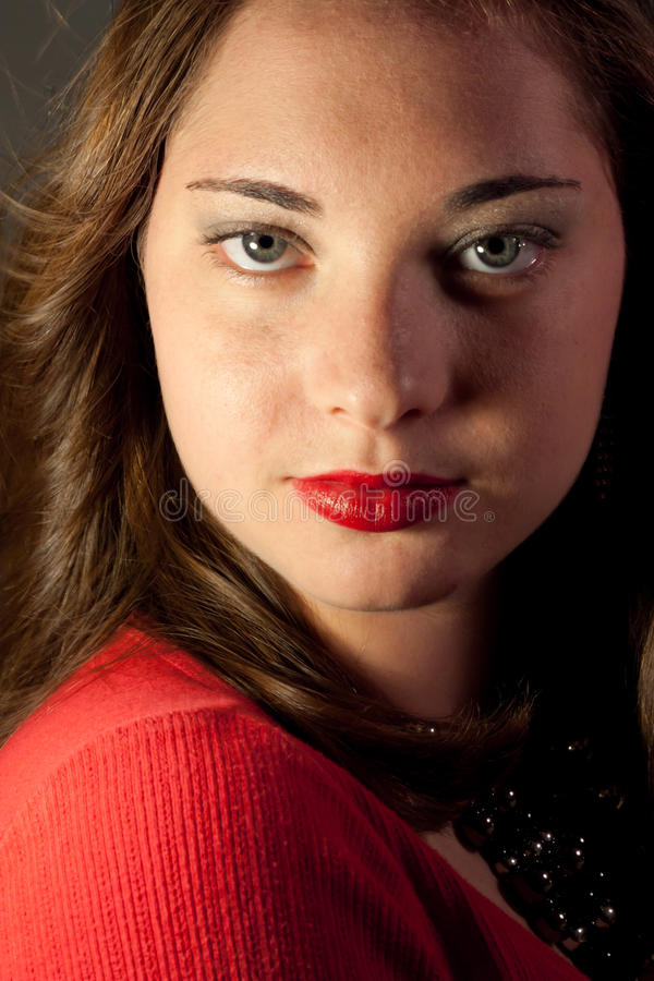 Glamour Portrait stock photo