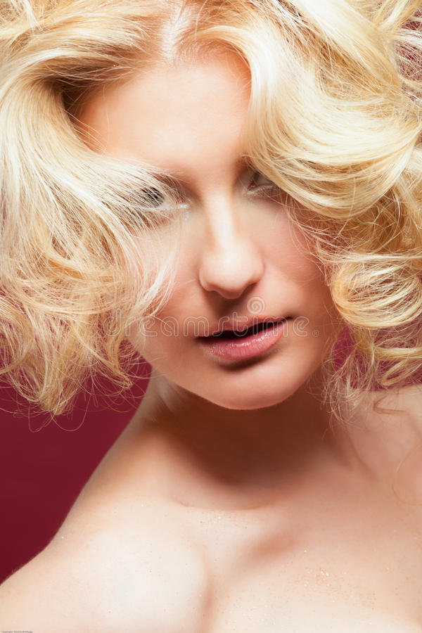 Download Glamour Portrait Of Blond Woman Stock Image - Image: 32922907