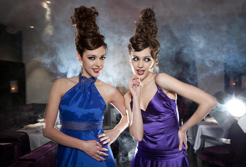 Download Glamour Twins Stock Photography - Image: 20535922