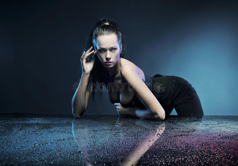 Glamour woman stock photography