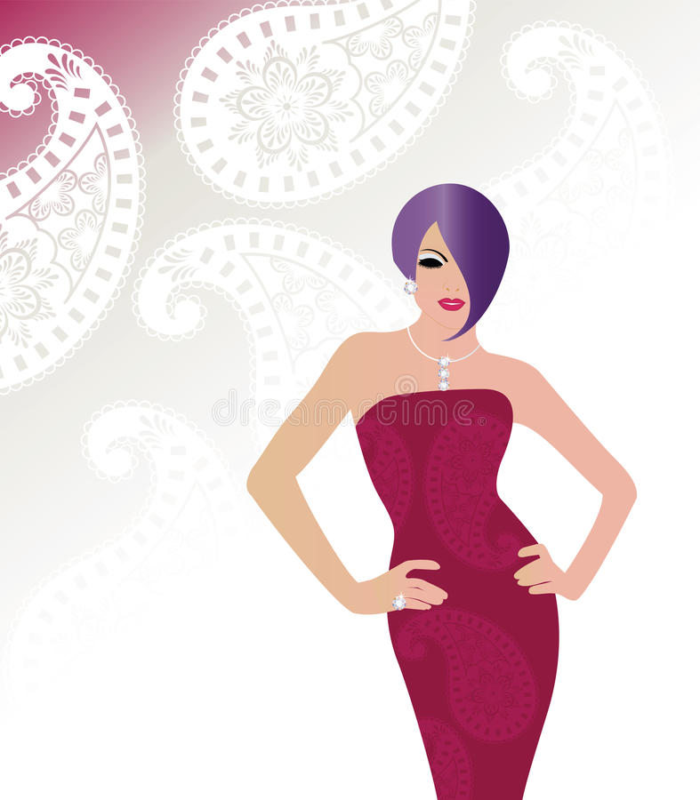 Free Glamour Woman Royalty Free Stock Images - 14177769