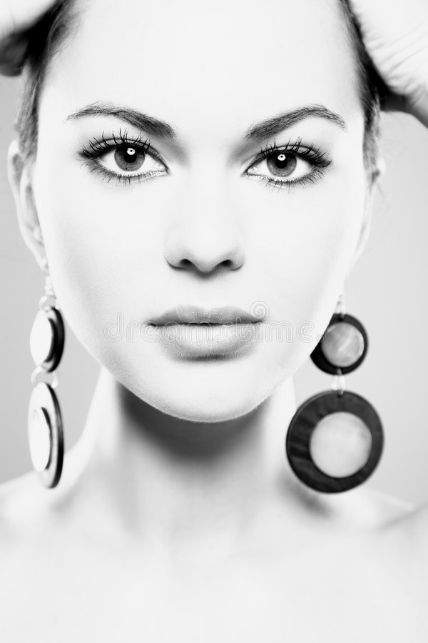 Glamour woman stock image