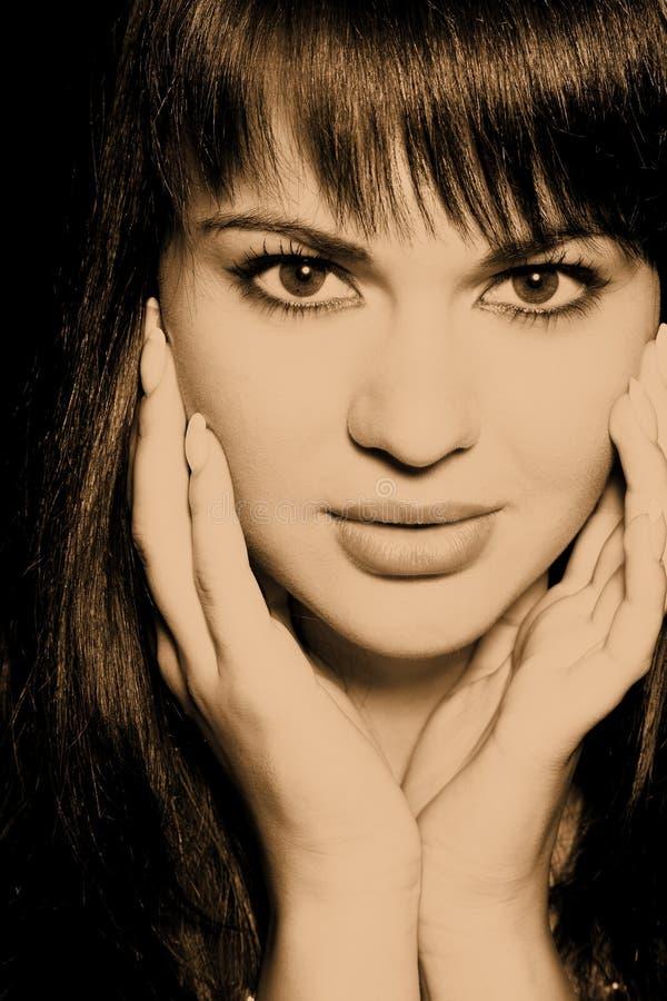 Glamour woman royalty free stock photos