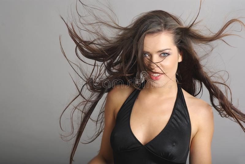 Glamour woman royalty free stock photo