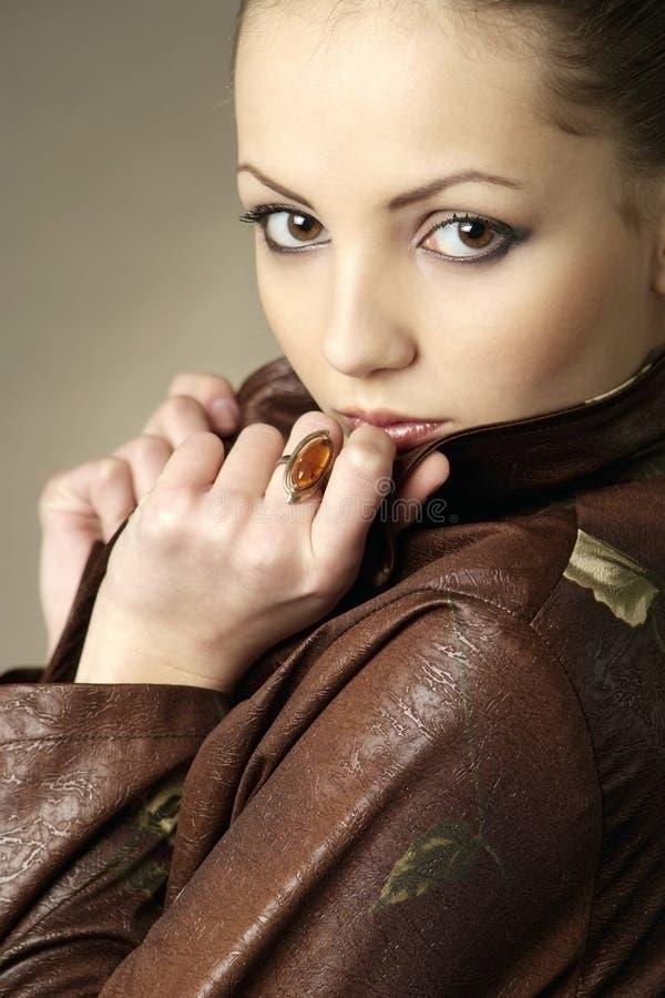 Download Glamour women portrait stock photo. Image of lips, beauty - 5893182