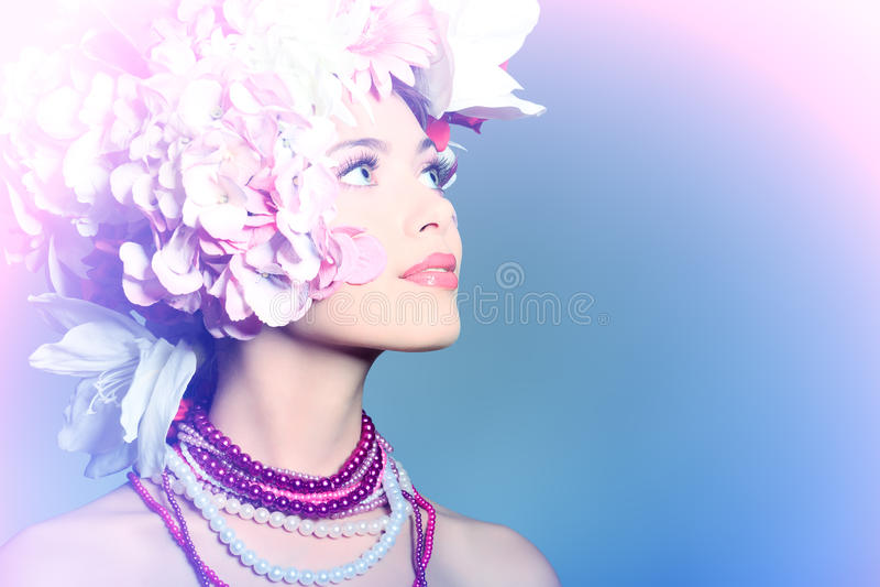 glamourlook royaltyfri fotografi