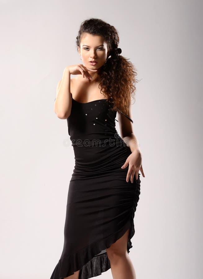 Glamourmodel royalty-vrije stock afbeeldingen