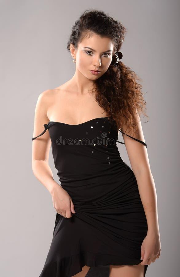 Glamourmodel royalty-vrije stock foto's