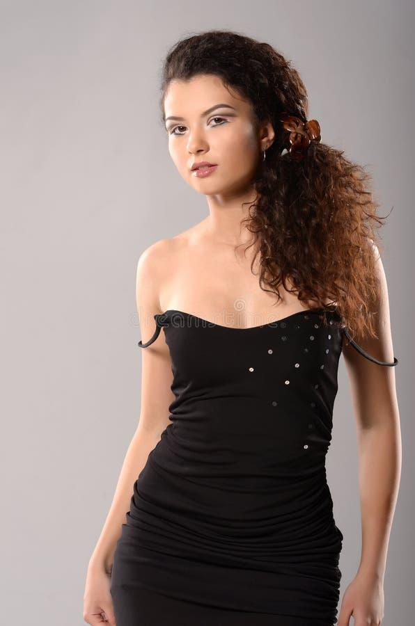 Glamourmodel stock foto