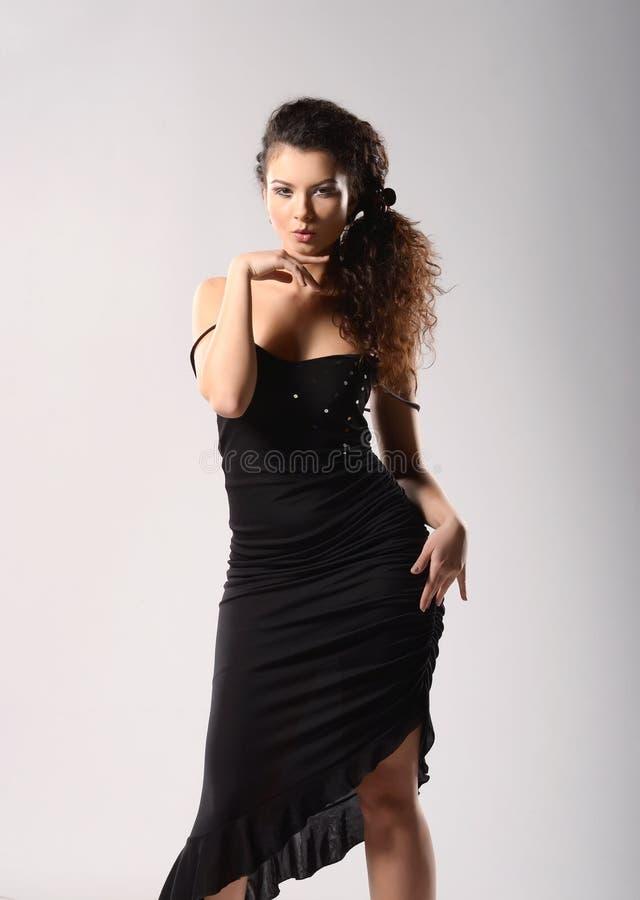 Glamourmodel stock fotografie