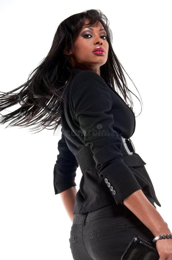 glamourmodell royaltyfri fotografi