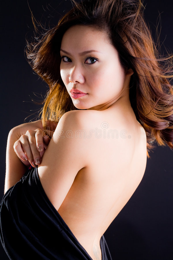 Download Glamourous asian woman stock image. Image of cleavage - 6608327