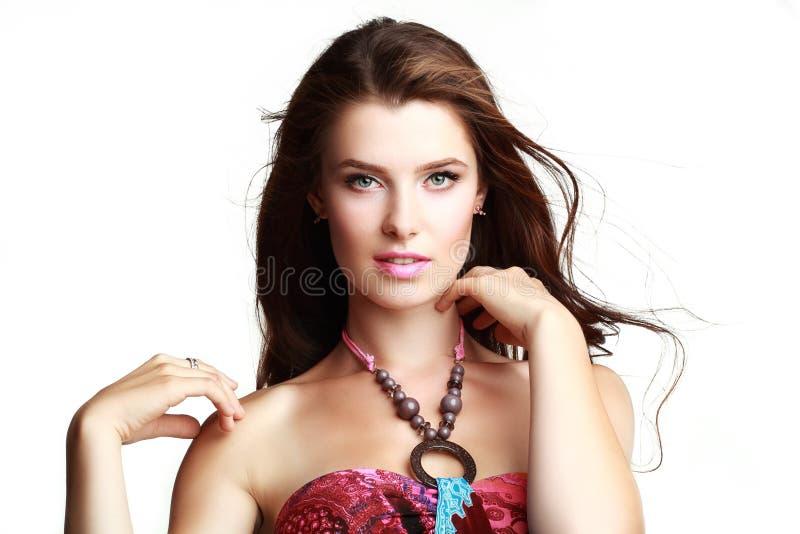 Glamourportret stock foto