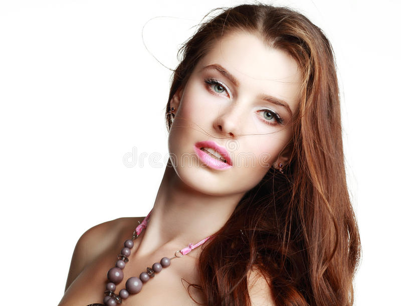 Glamourportret stock fotografie