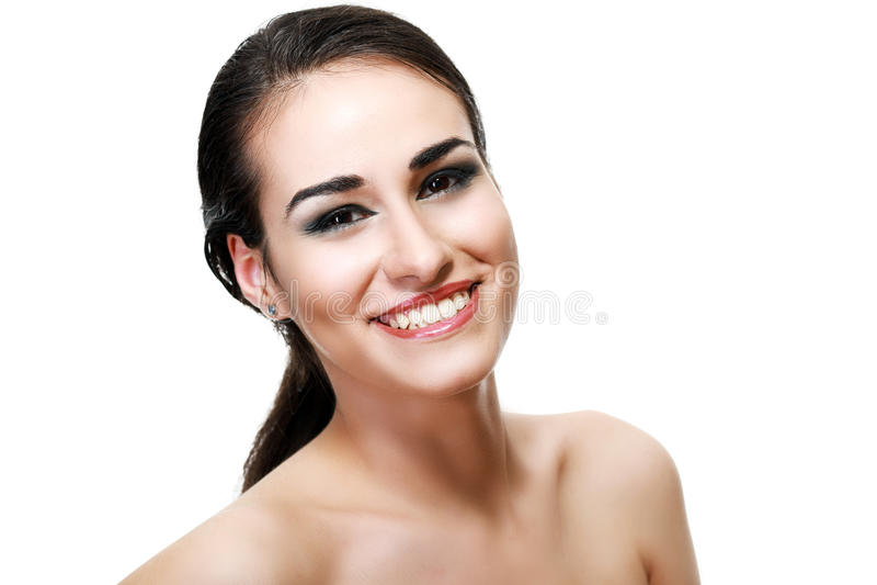 Glamourportret stock afbeeldingen