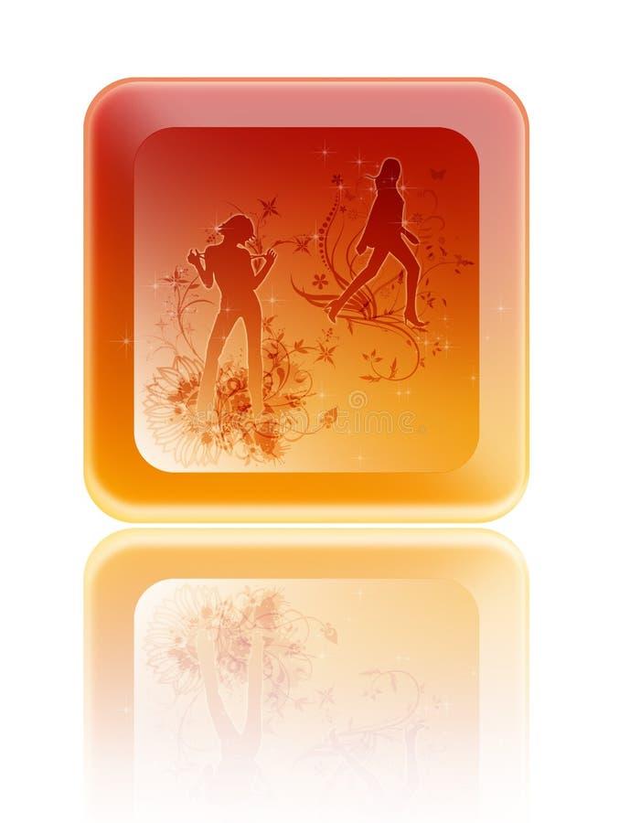 Download Glamur. stock abbildung. Illustration von kühl, fashion - 9093293