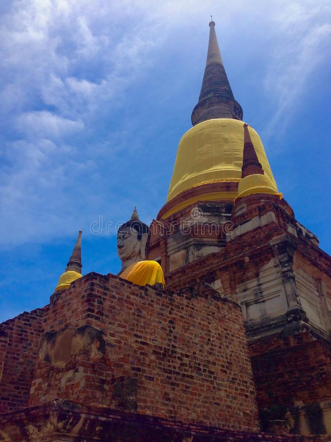 glans van tempel stock foto's