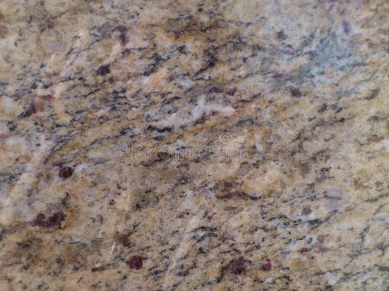 Glansig granit arkivfoto