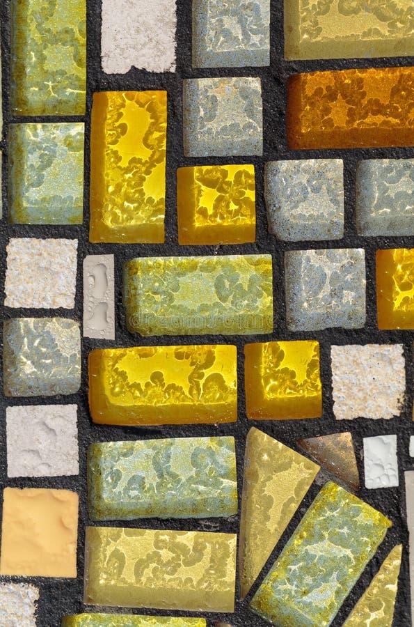 Glansowana mozaika royalty ilustracja