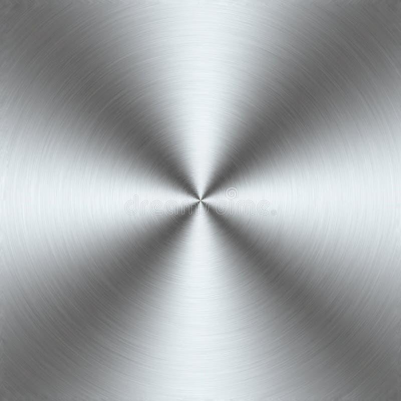 Glanzend metaalpatroon vector illustratie