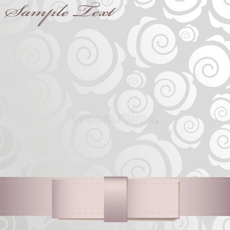 Glanzend Roze Lint Stock Foto