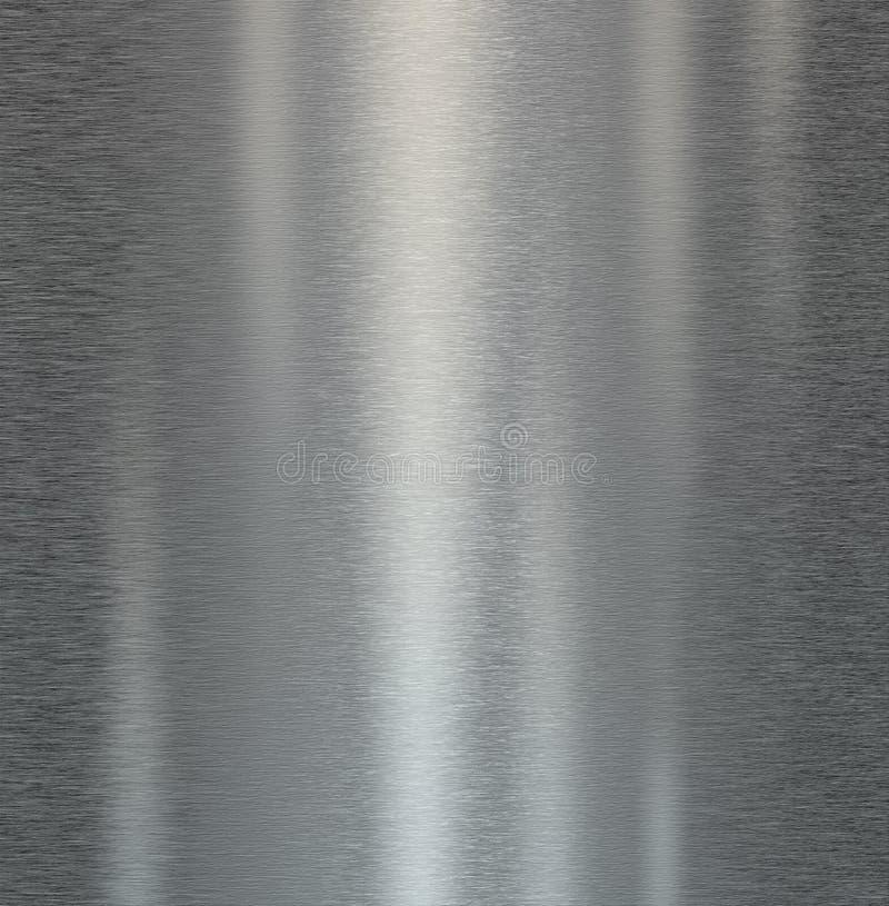 Glanzend scrathced de achtergrond van de metaaltextuur royalty-vrije stock afbeeldingen