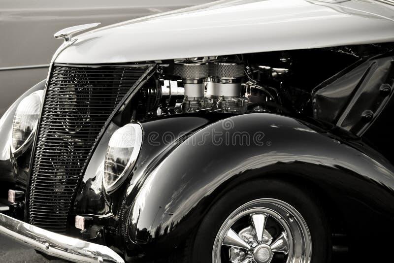 Glanzende Antieke Auto stock fotografie