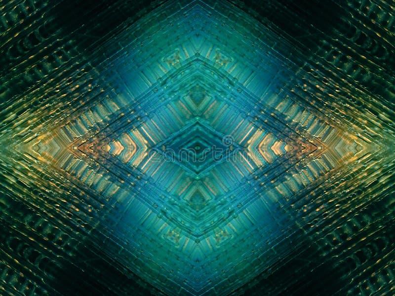 Glanzende Diamantvormige Textuur vector illustratie