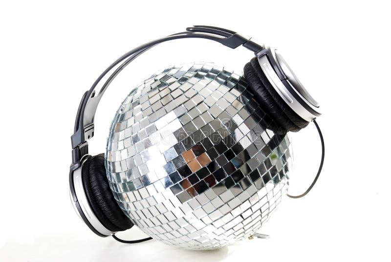 Glanzende discobal stock afbeeldingen